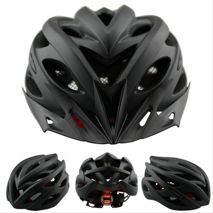 Foto Produk SALE Helm Sepeda EPS PVC Shell dengan Lampu Backlight NEW dari ufistore2020