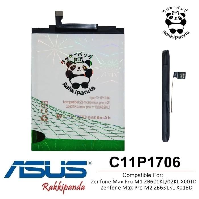 Foto Produk Baterai Asus Zenfone Max Pro M1 ZB601KL C11P1706 Double IC Protection dari nohan