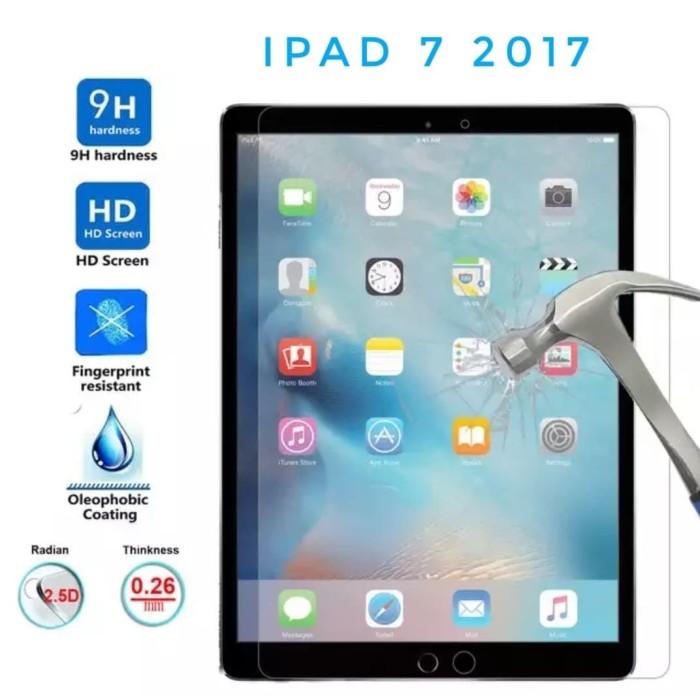 Foto Produk Tempered Glass iPad 7 10.2 in Premium Glass 0.3 Clear dari SoG Aksesoris Handphone