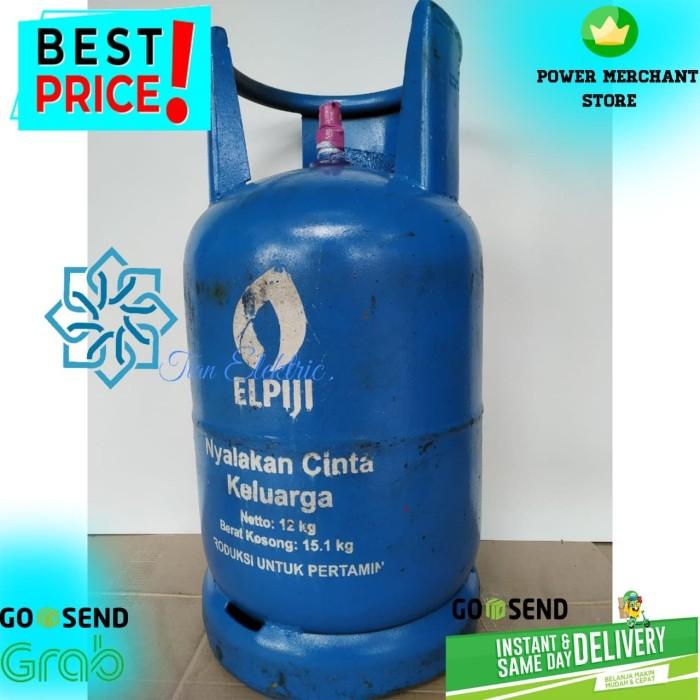 Foto Produk Tabung Gas LPG 12Kg + isi - Segel (Gojek/Grab Instant Courier Only) dari Toko Tian Elektrik