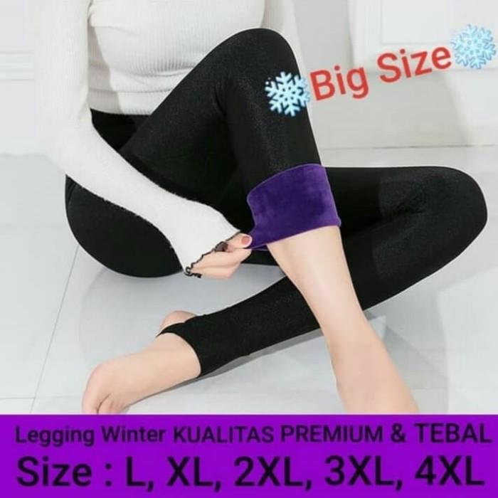 Jual Celana Legging Bigsize Musim Dingin Wanita Legging Winter Musim Salju Jakarta Barat Samosirstore Tokopedia