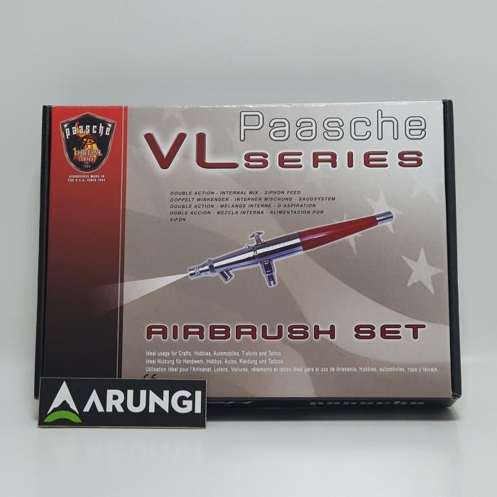 Size 3 Paasche Airbrush VL-Card Airbrush Card Set