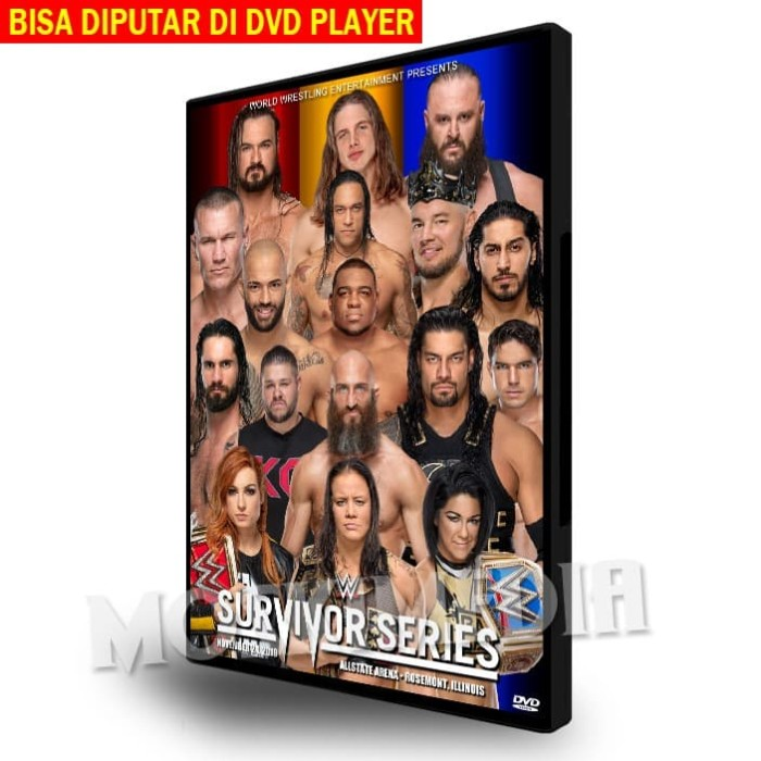 Foto Produk WWE Survivor Series 2109 (DVD Video) - 2 Disc Set dari MoskiMedia