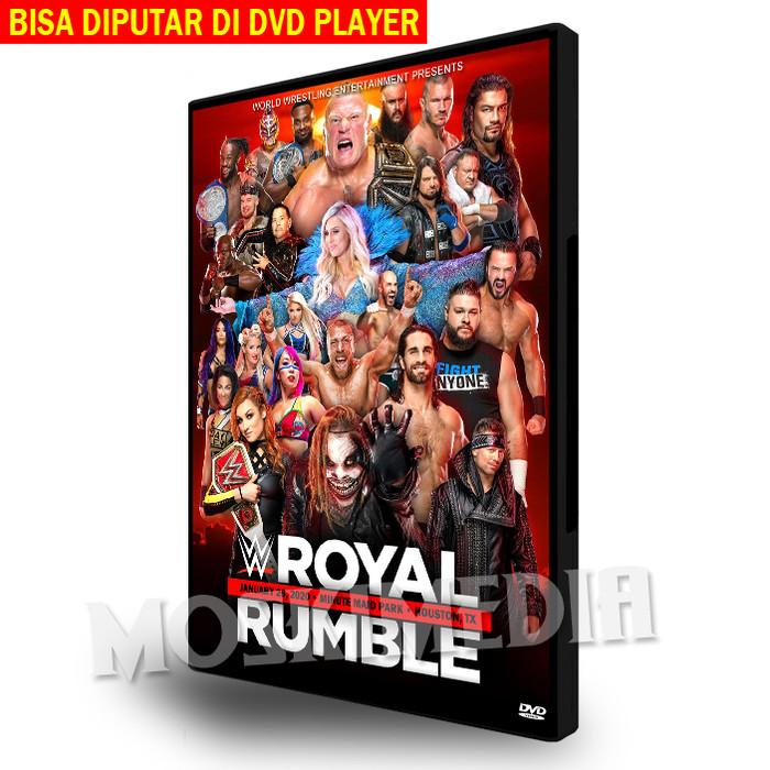 Foto Produk WWE Royal Rumble 2020 (DVD Player) - 2 Disc Set dari MoskiMedia