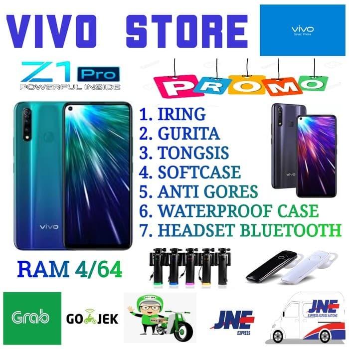 Foto Produk VIVO Z1 PRO RAM 4/64 GARANSI RESMI VIVO INDONESIA - Sonic Blue dari VIVO ST0RE