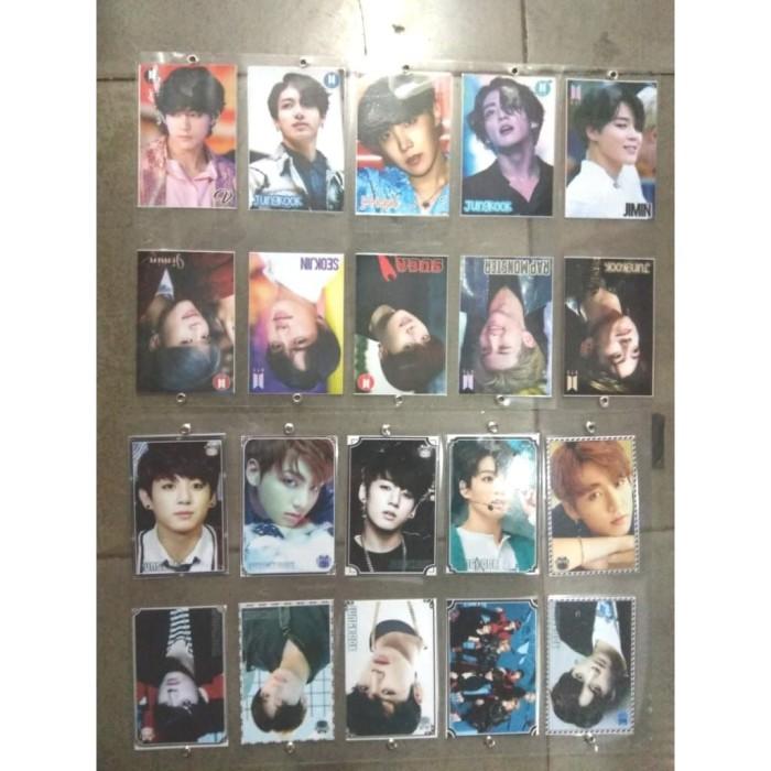 Foto Produk Gantungan Kunci atau Tas bentuk Kartu BTS band dari reynaldo-tan