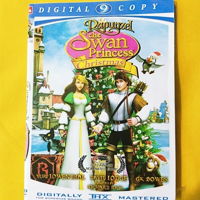 Jual Dvd Film Rapunzel The Swan Princess Subtitle Indonesia Jakarta Barat Friendstoreee Tokopedia