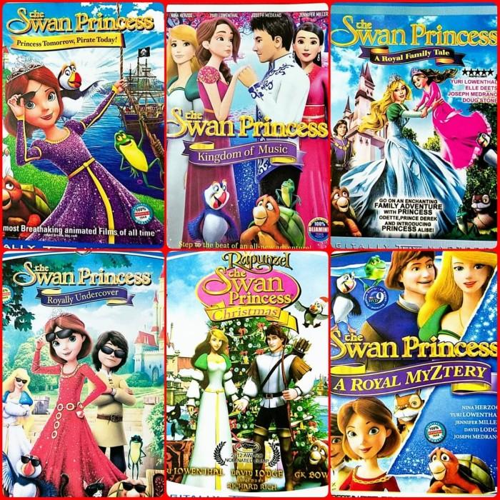 Jual Promo Paket 6 Dvd Film Anak Anak Dianep Rapunzel The Swan Princess Jakarta Barat Lucky Store 2205 Tokopedia