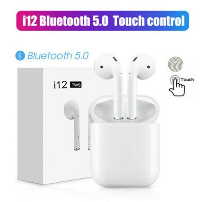 Jual Airpod I12 Tws Versi 5 0 Touch Id Hf Wireless Ios Headset Bluetooth Kota Depok Mm Store Id Tokopedia
