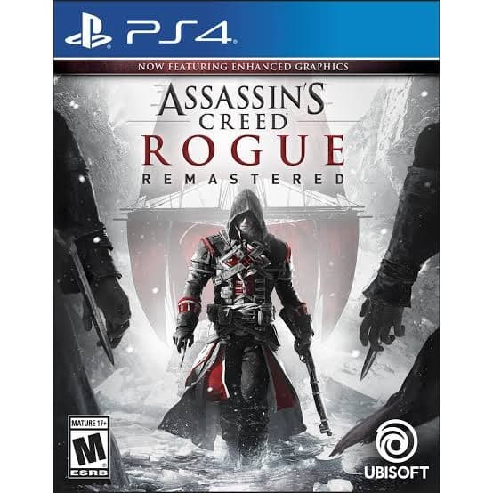 Jual Games Ps 4 Assassins Creed Rogue Remasterd Region 3 Kota