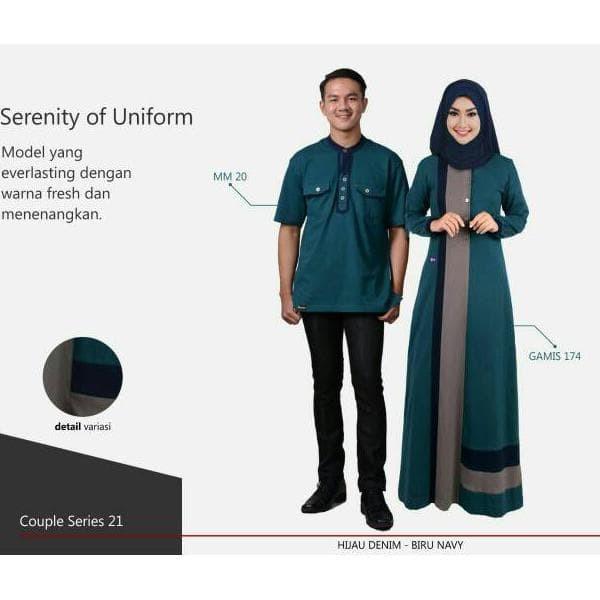 Jual Promo Spesial Busana Muslim Muslimah Mutif Couple Series 21 Kota Tangerang Patasmarket Tokopedia