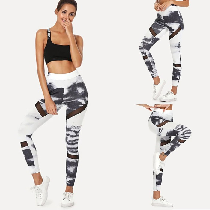 Jual Fszg Id Celana Legging Wanita Ketat Motif Print Untuk Yoga Kab Cirebon Sepatu Jpstore Tokopedia