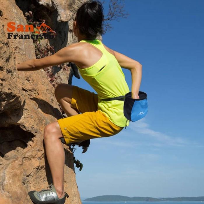 Jual San Waterproof Outdoor Rock Climbing Waist Bags Magnesium Powder Jakarta Selatan Path Gil Tokopedia