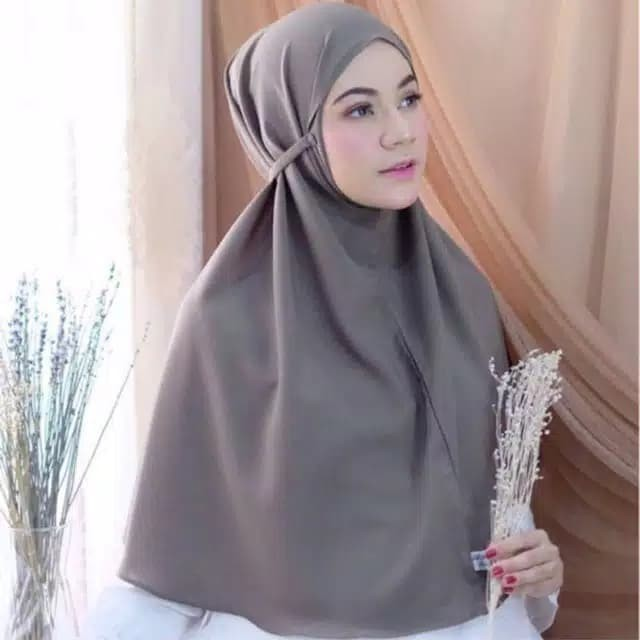 Jual Bergo Maryam Daily Hijab Abu Silver Kab Sukabumi Sabreenahijab Tokopedia