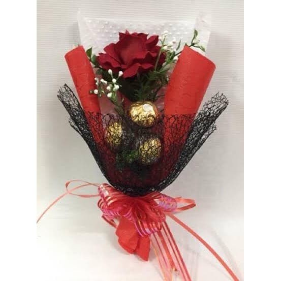 Jual Buket Bunga Coklat Valentine Premium Flower Chocolate Bouquet Jakarta Timur Has117 Tokopedia