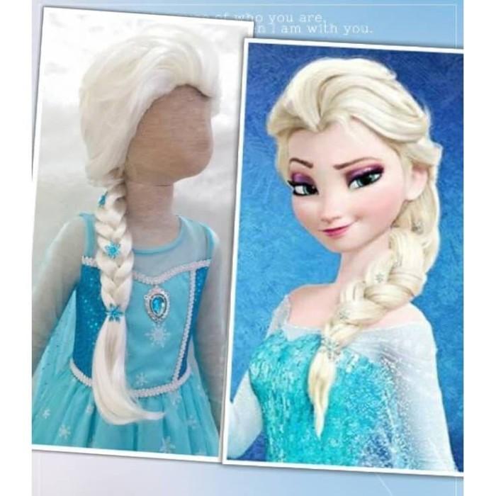 Disney Princess Frozen Elsa Beanie Hat Cap One Size Fits Most Let It Go NWT