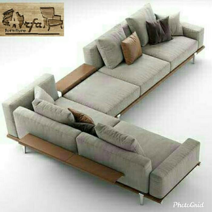 Jual Sofa Minimalis Ruang Tamu Mewah Kab Jepara Jepara Arfa Furniture Tokopedia