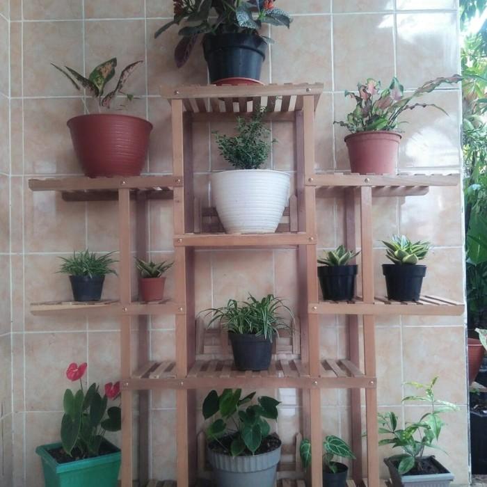 Jual Stand Pot Bunga Dan Rak Kayu Serbaguna Kota Salatiga Enggar Erlangga Store Tokopedia