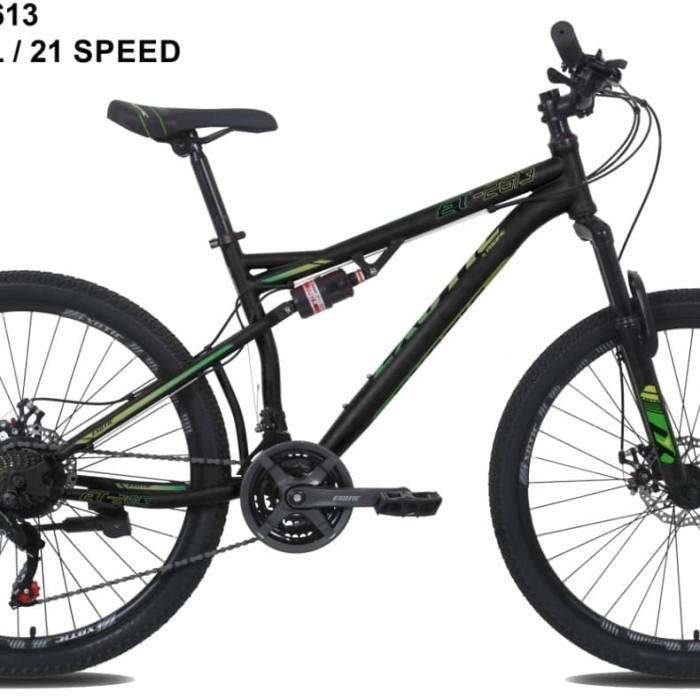 """Jual Sepeda Gunung MTB 26"""" Exotic 2613 Full suspensi"""