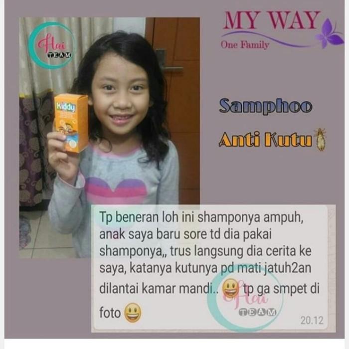 Jual Shampo Anti Kutu Kota Palembang Evi My Way Indonesia Tokopedia