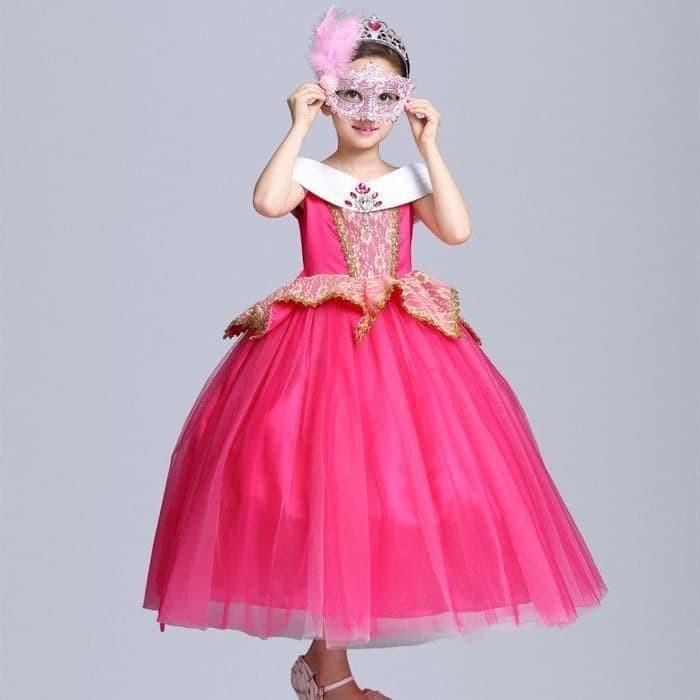 Jual Baju kostum dress princess aurora dress hadiah ulang ...