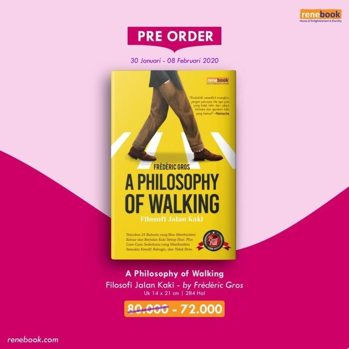 Foto Produk A Philosophy of Walking - Frederic Gros - Renebook dari Republik Fiksi