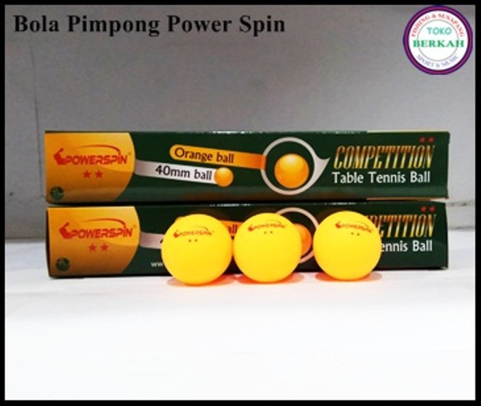 Foto Produk BOLA PIMPONG BOLA TENIS MEJA POWER SPIN dari Arbanijaya8557