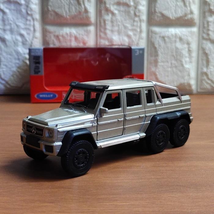 Foto Produk Diecast Miniatur Mercedes Benz G63 AMG 6X6 dari PARASINDOCELL