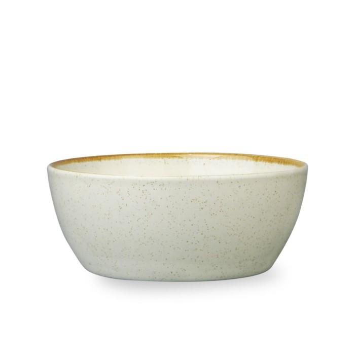 Foto Produk ZEN Mangkuk Cereal Stoneware Cream - Diameter 15 cm dari ZEN Porcelain Tableware