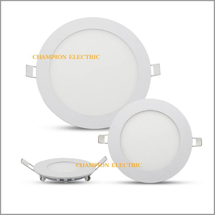 Foto Produk Lampu Downlight LED Panel Bulat Inbow 12W 12 Watt Kuning Bergaransi - Kuning dari Champion Electric