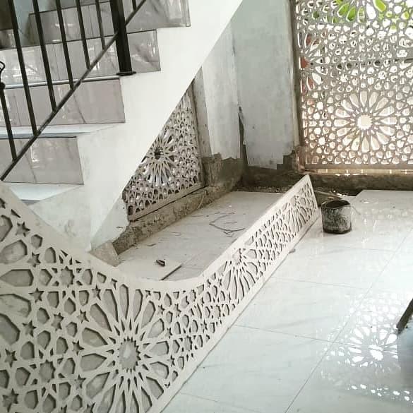 Jual partisi grc/loster masjid/krawangan motif islami ...