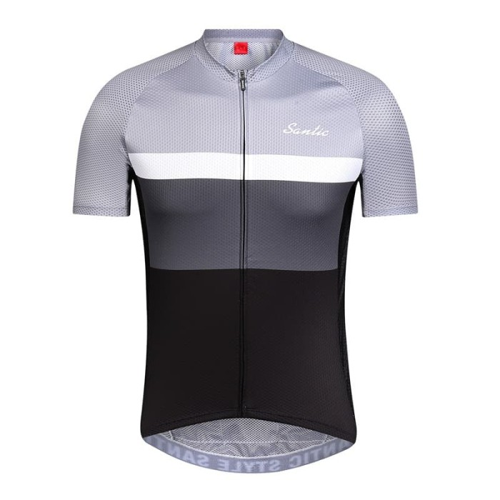 Foto Produk Baju Jersey Sepeda Santic - Arthur Gray - QM9C02138G dari toko883