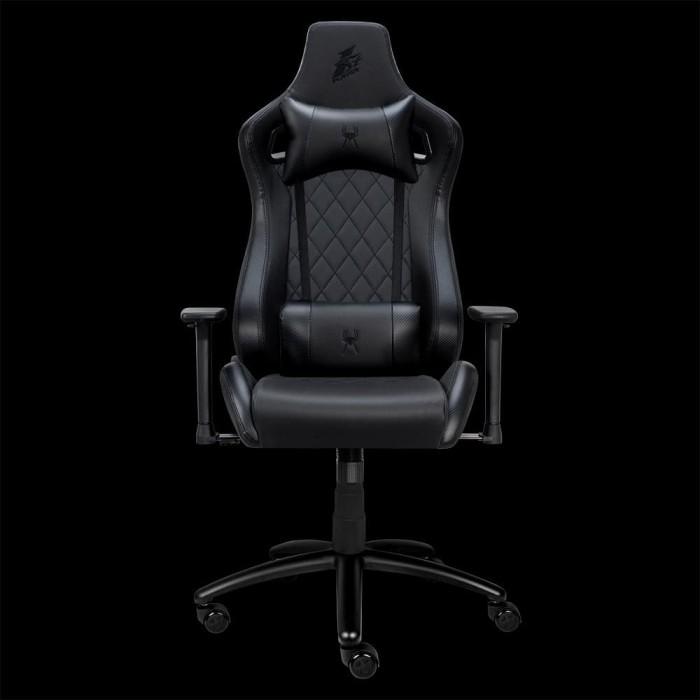 Foto Produk 1STPLAYER GAMING CHAIR K2 - BLACK - Comfort - All Steel Skeleton dari Enter Komputer Official