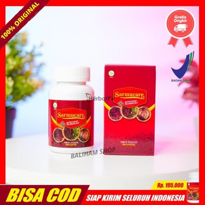 Foto Produk Sarmucare Walatra Sarang Semut Asli Obat Wasir, Asam Urat Herbal Di dari Balihamshop