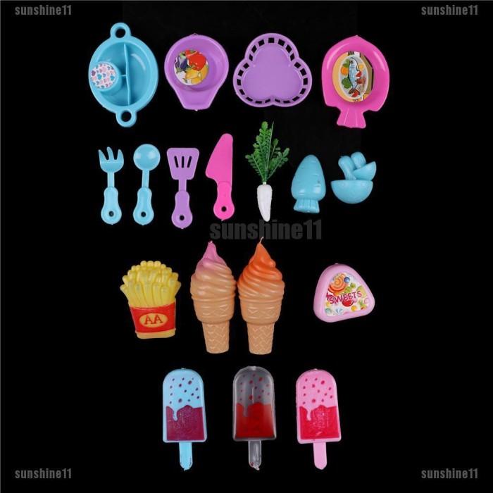 Jual Baru Mainan Set Masak Masakan Ice Cream Makanan Untuk Boneka Barbie Jakarta Barat Glamourid Tokopedia