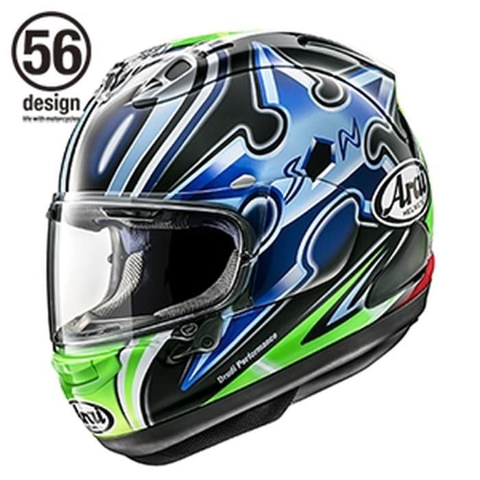 Foto Produk Arai RX7X Nakano Shuriken Green Helm Full Face - Arai SNI - L dari Helm Cargloss