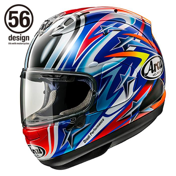 Foto Produk Arai RX7X Nakano Red Helm Full Face - Arai SNI - L dari Helm Cargloss