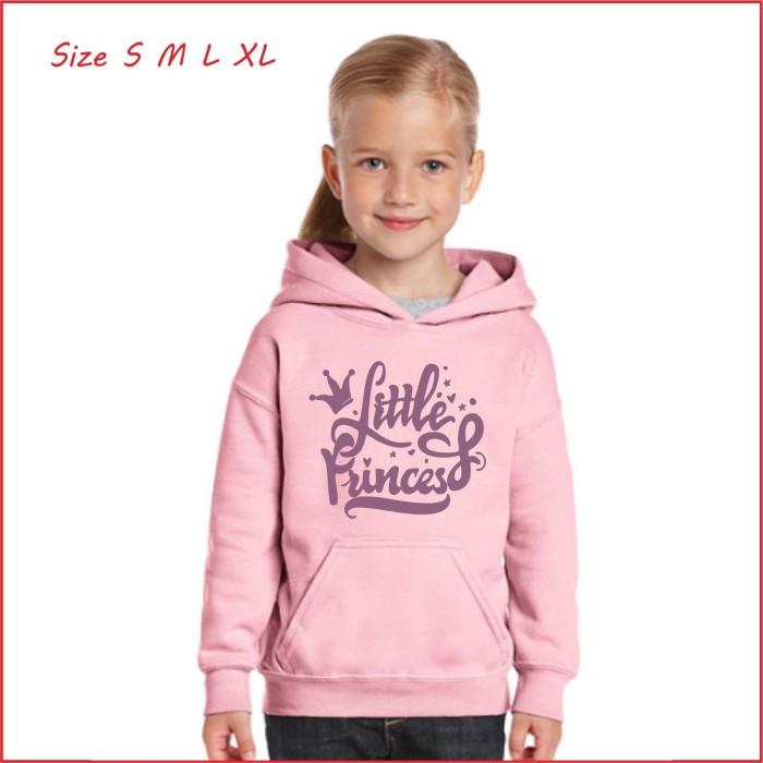 Foto Produk Jaket Hoodie Sweater anak perempuan bahan tebal termurah - Size M, tosca dari LOOK BABY