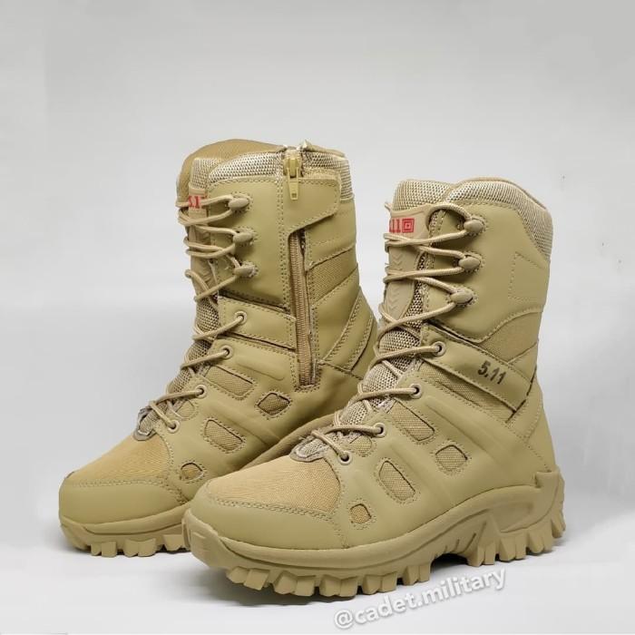 Foto Produk Sepatu Combat Boots PDL 511 (BARU) - Warna GURUN - 41 dari Cadet Military