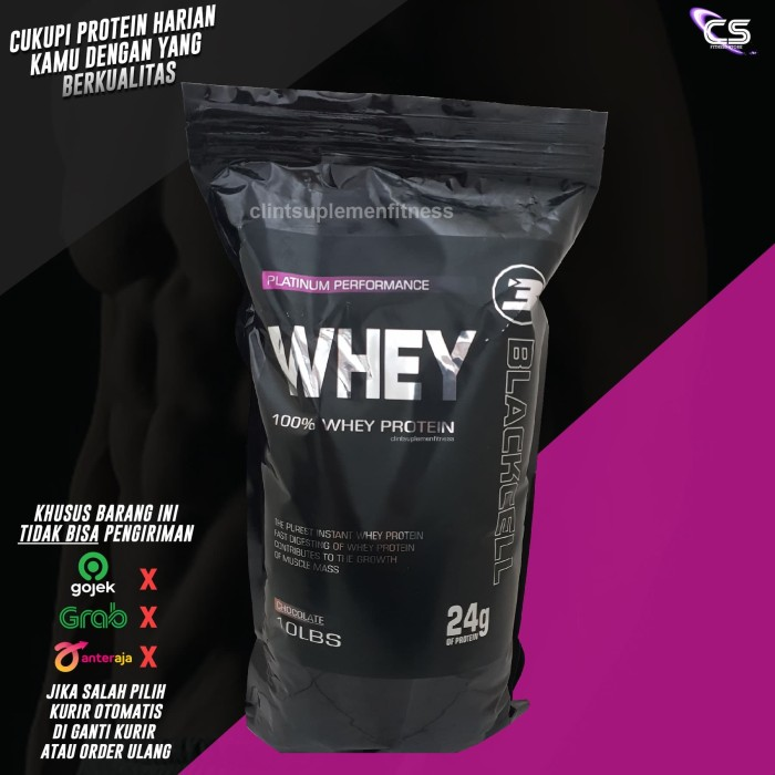 Foto Produk BLACK CELL Platinum Whey 10lbs lbh bagus & murni dari prohybrid whey dari Clint Suplemen Fitness