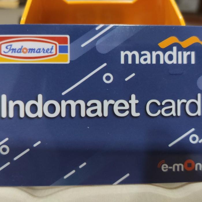 Jual Kartu Indomaret Card E Toll E Toll E Money E Money Mandiri Saldo Nol Jakarta Barat Custom World Tokopedia