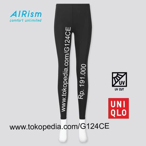 Jual Uniqlo Wanita Airism Pakaian Dalam Legging Uv Cut 423044 Hitam Black Jakarta Barat G124ce Tokopedia