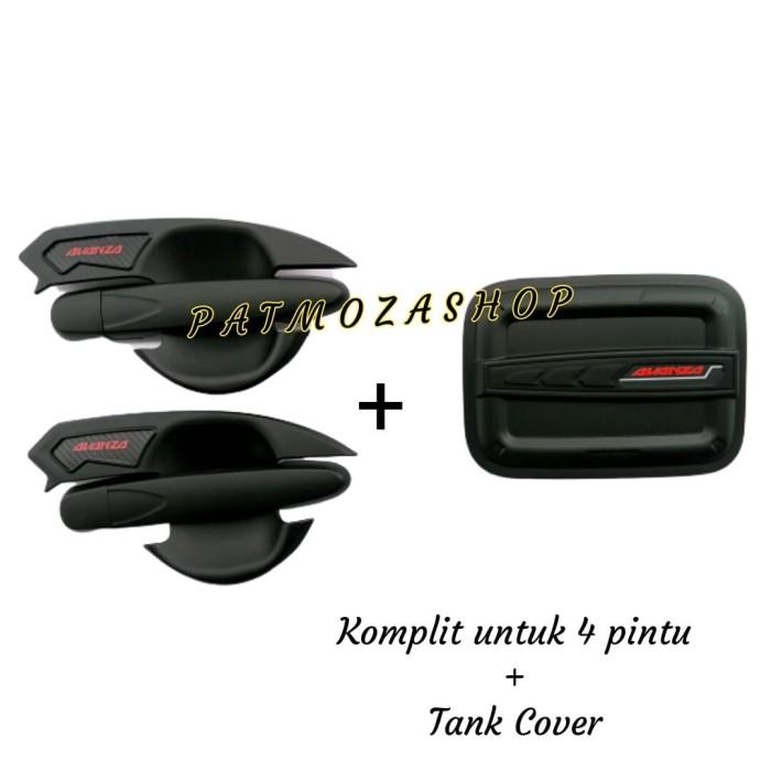 Foto Produk Paket All New Avanza Door Handle Outer & Tank Cover Black 2012-2015 dari Patmoza shop