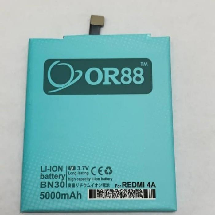 Foto Produk BATERAI BATRE BATTERY DOUBLE POWER XIAOMI REDMI 4A BN30 dari Qshop66