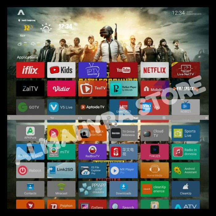 jual stb android tv box 4k full root smart tv support mouse stb indihome jakarta selatan jeyop6 tokopedia