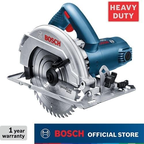 Foto Produk Bosch Circular Saw / Gergaji Sirkel Listrik 184mm 1100Watt GKS 7000 dari Bosch Power Tools