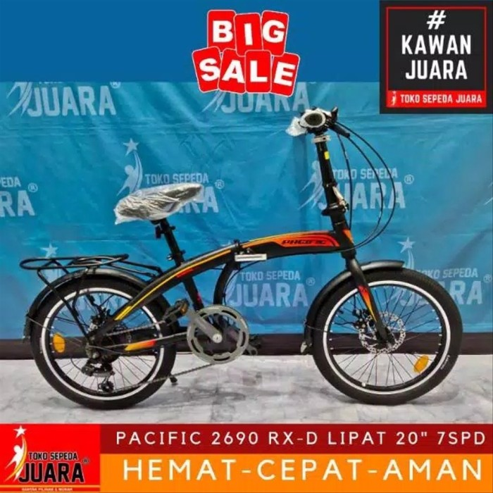 Jual Ai Sepeda Lipat Pacific 2980 Rx D Folding 20 Inch Cakram Gprt21 Yez1 Jakarta Barat Tiaraanjanihieara Tokopedia