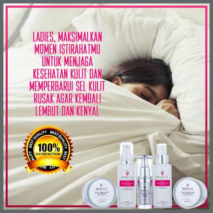 Foto Produk Promo Paket Skincare Kosmetik Halal Rineva With Ectoin dari Si Cantik Alami