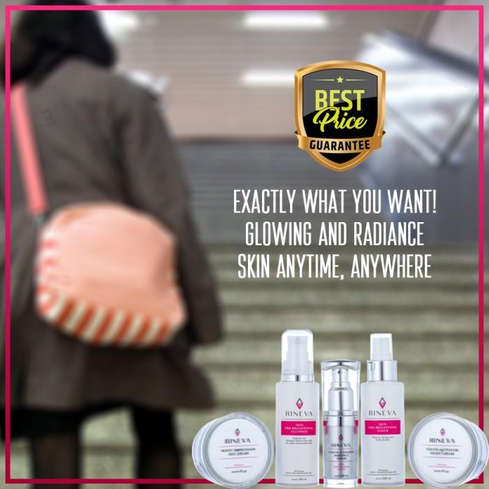 Foto Produk Brightening Series Rineva Skincare Halal Cruelty Free dari Si Cantik Alami