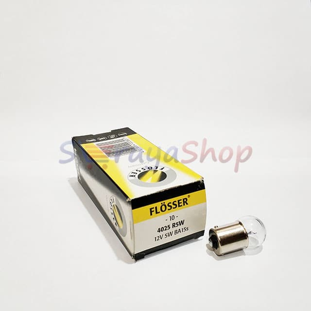 Foto Produk Lampu R5W 4025 12V 5W Flosser dari Seraya Shop